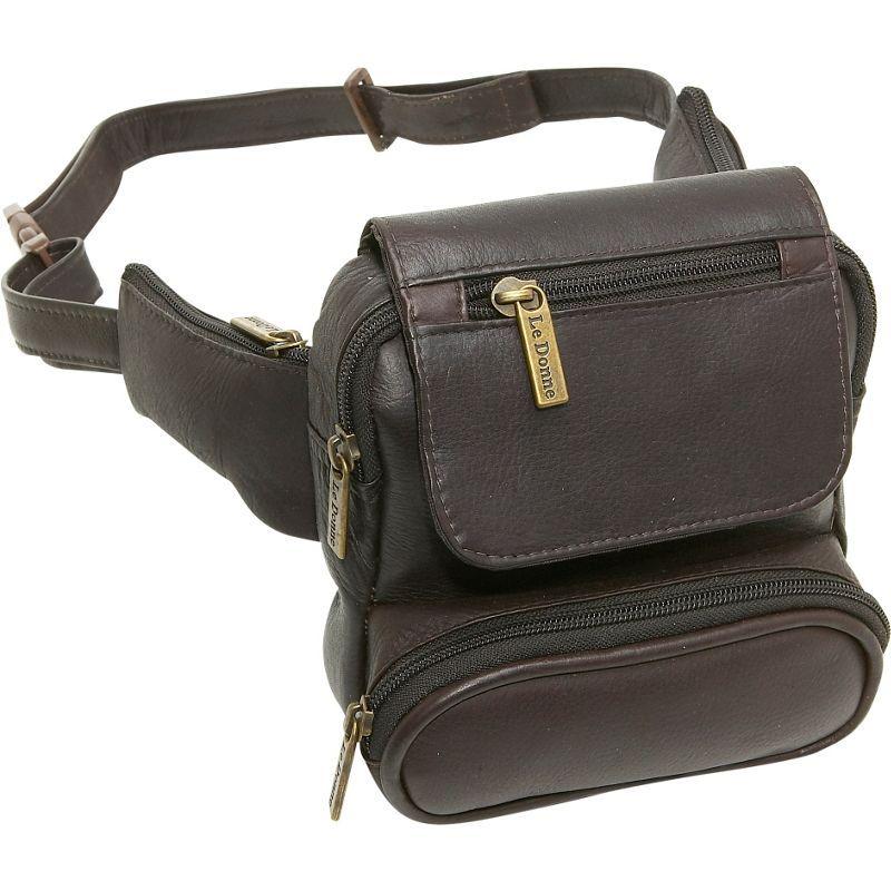 ルドネレザー メンズ ボディバッグ・ウエストポーチ バッグ Traveler Waist Bag Cafe