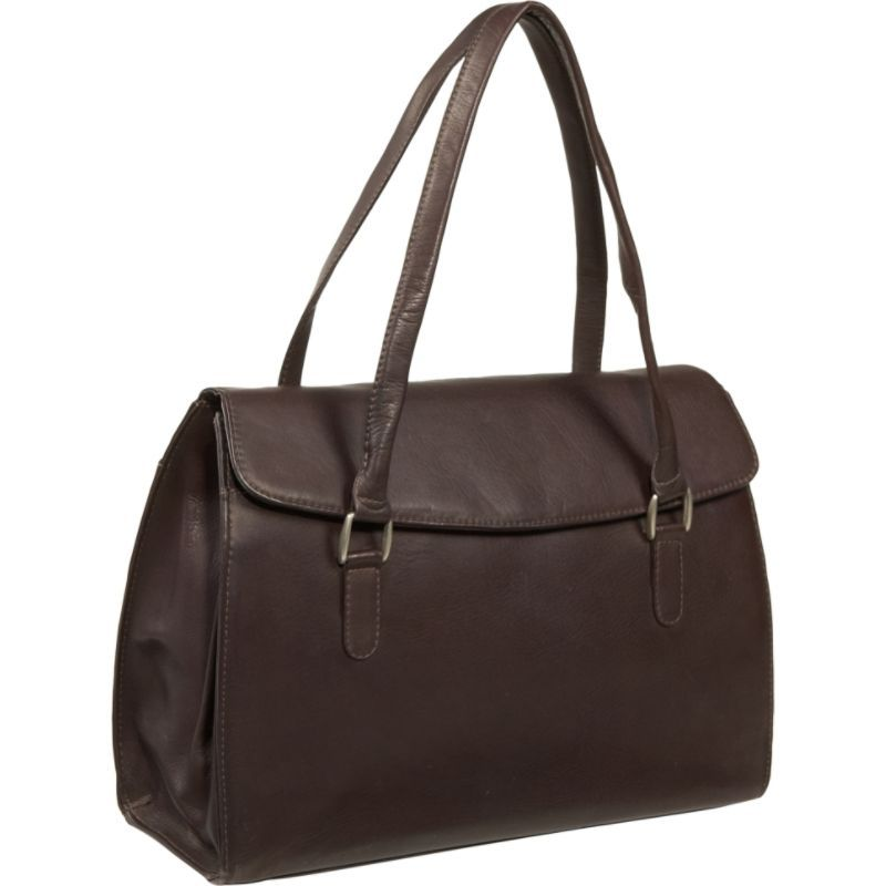 ピエール メンズ スーツケース バッグ Ladies Laptop Portfolio Chocolate