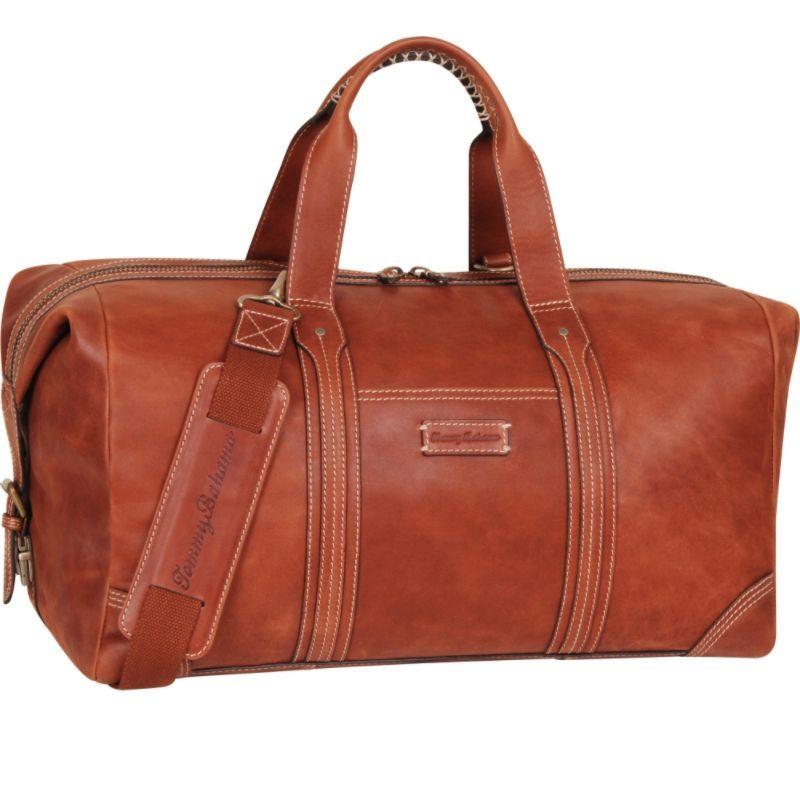 トッミーバハマ メンズ スーツケース バッグ Back 9 Duffle Cognac