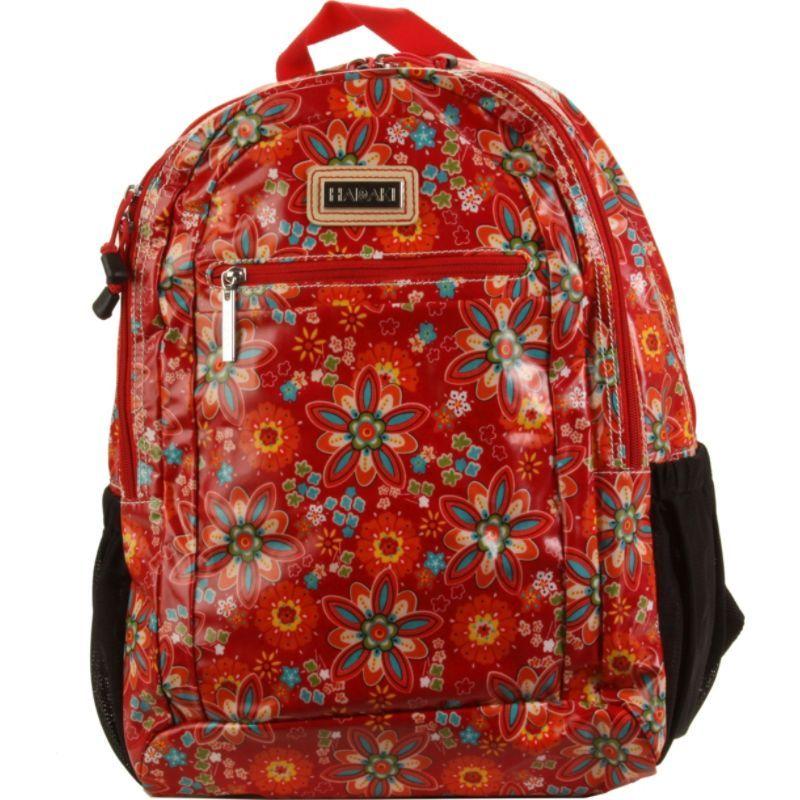 ハダキ メンズ バックパック・リュックサック バッグ Coated Cool Backpack Primavera Floral