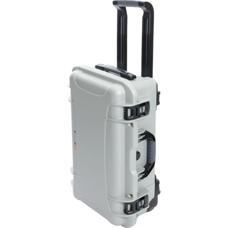 ナヌク メンズ スーツケース バッグ 935 Case With 4 Part Foam Insert Silver