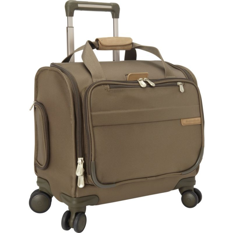 ブリグスアンドライリー メンズ スーツケース バッグ Cabin Spinner Olive