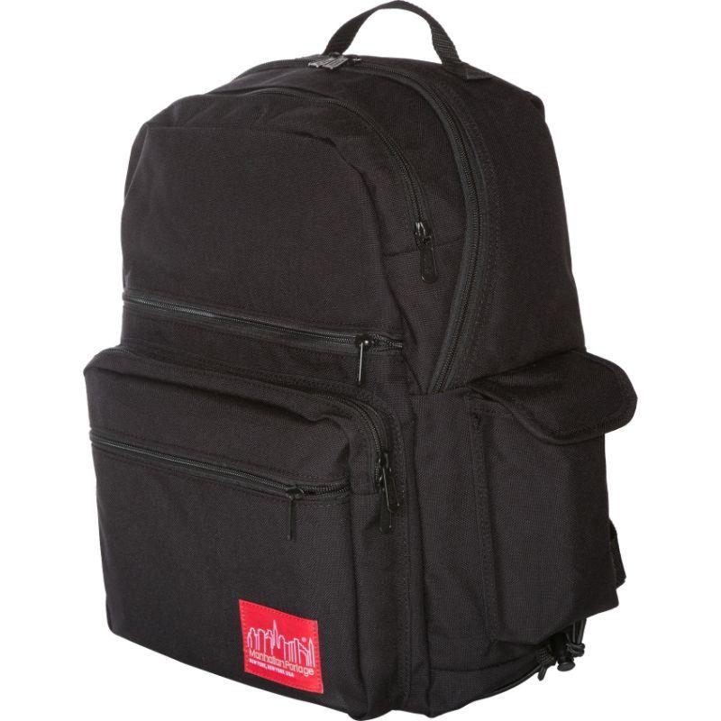 マンハッタンポーテージ メンズ バックパック・リュックサック バッグ Ken's Backpack Black