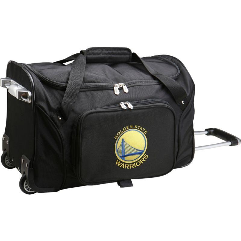 デンコスポーツ メンズ スーツケース バッグ NBA 22 Rolling Duffel Golden State Warriors