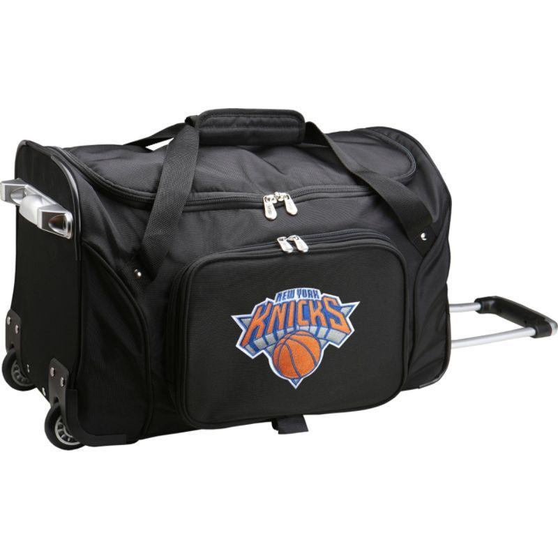 デンコスポーツ メンズ スーツケース バッグ NBA 22 Rolling Duffel New York Knicks