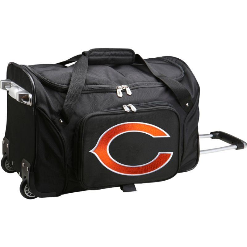 デンコスポーツ メンズ スーツケース バッグ NFL 22 Rolling Duffel Chicago Bears