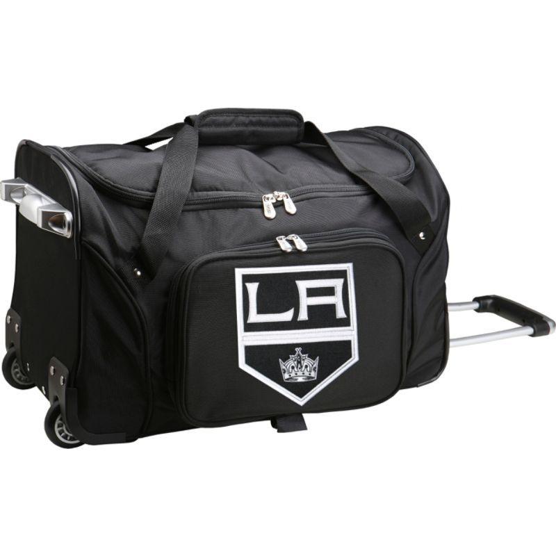 デンコスポーツ メンズ スーツケース バッグ NHL 22 Rolling Duffel Los Angeles Kings