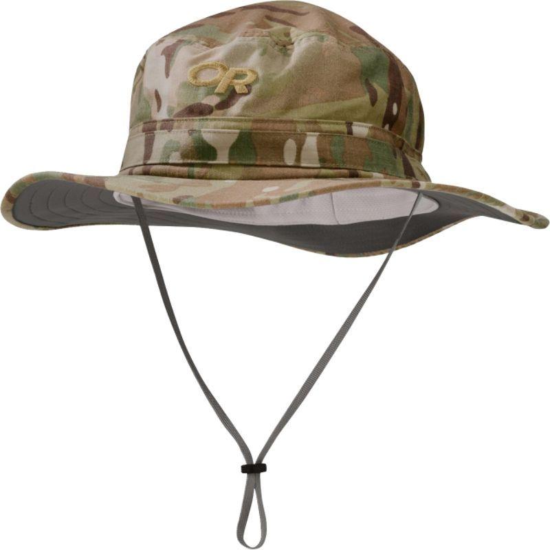 アウトドアリサーチ メンズ 帽子 アクセサリー Helios Sun Hat Camo Multicam - Large