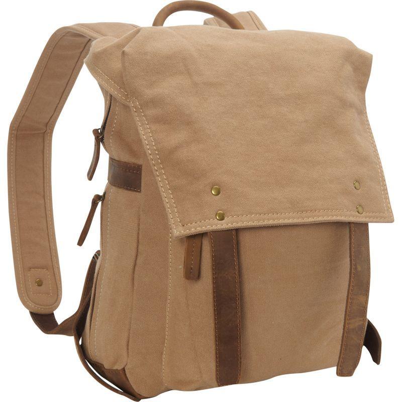ヴァガボンドトラベラー メンズ バックパック・リュックサック バッグ Sport Canvas Backpack Rucksack Khaki