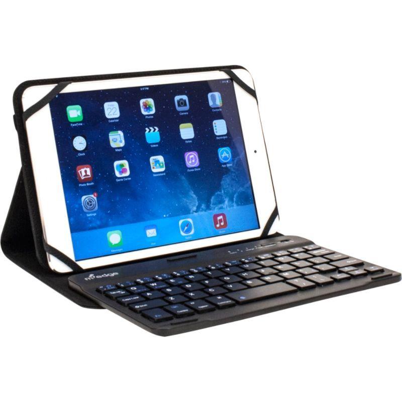 エムエッジ メンズ PC・モバイルギア アクセサリー Folio Plus Pro Keyboard for 9-10 Devices Black