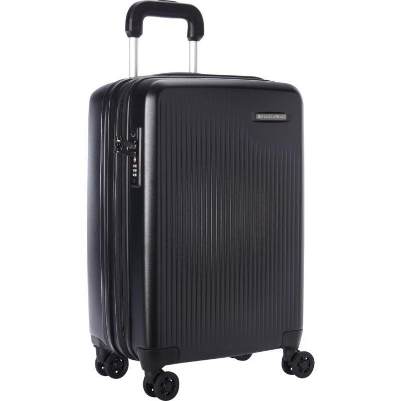 ブリグスアンドライリー メンズ スーツケース バッグ Sympatico CX Int'l Carry-On Expandable Spinner Black