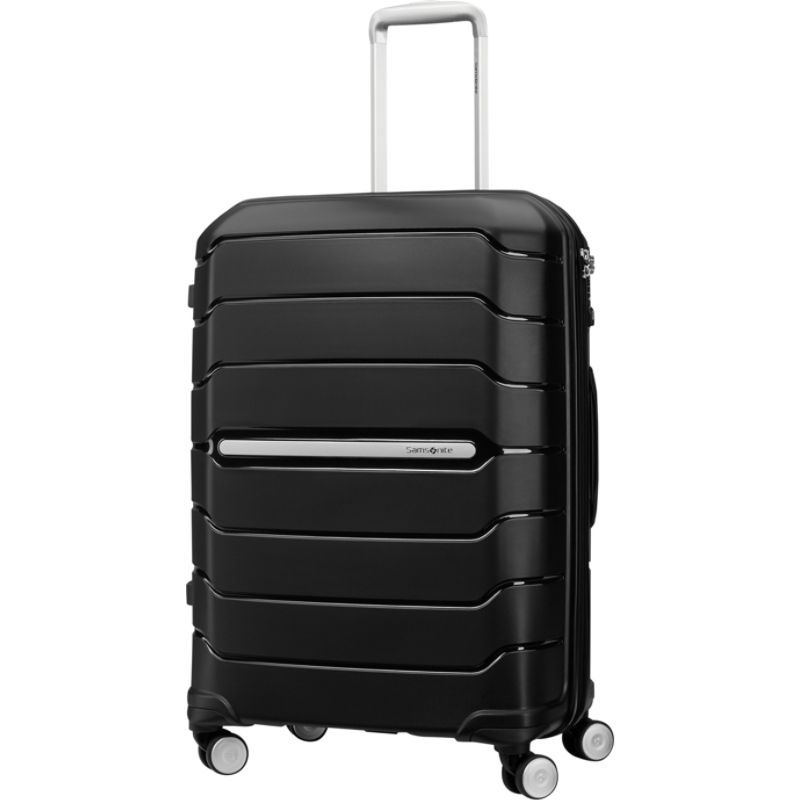 サムソナイト メンズ スーツケース バッグ Freeform 24 Hardside Spinner Black