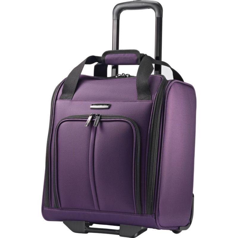 サムソナイト メンズ スーツケース バッグ Leverage LTE 15 Underseat Wheeled Boarding Bag Purple