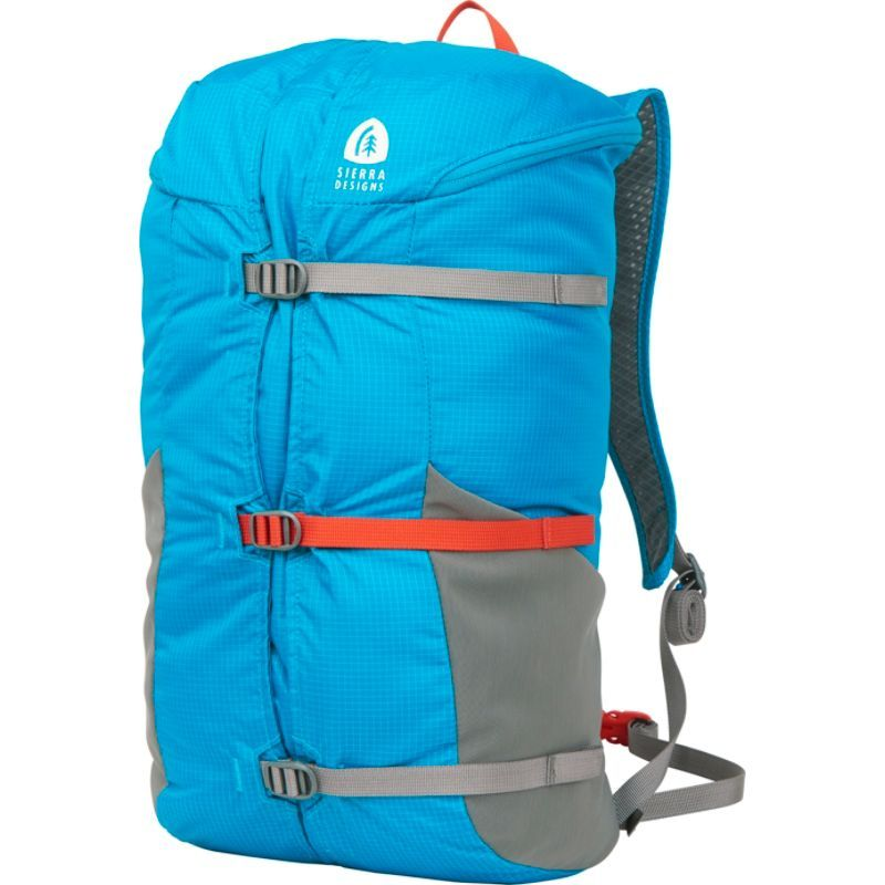 シェラデザインズ メンズ バックパック・リュックサック バッグ Flex Summit 18L-23L Hiking Pack Caribbean/Smoked Pearl
