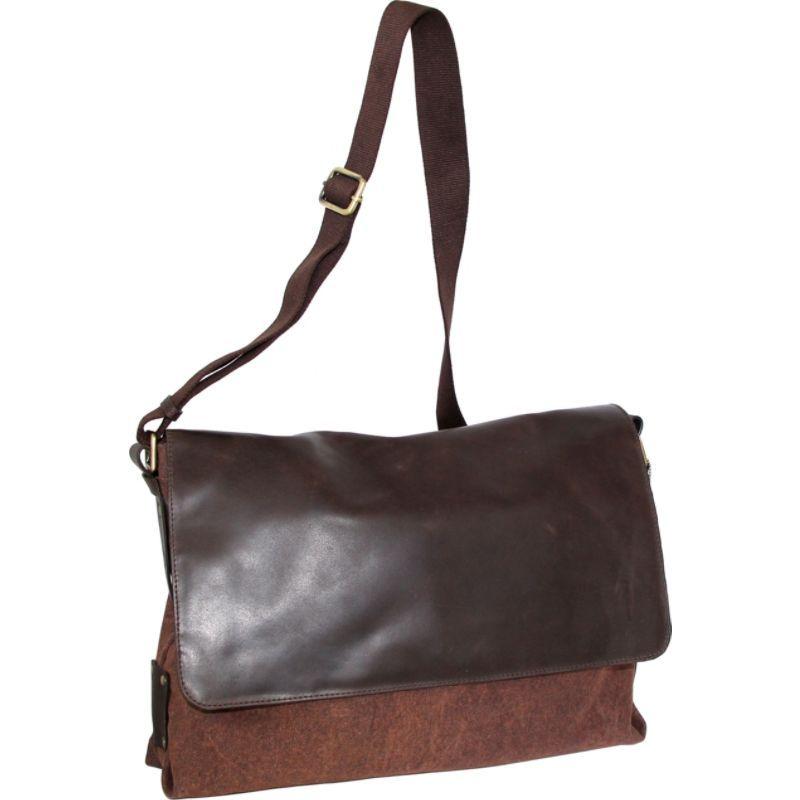 ニノボッシ メンズ ボディバッグ・ウエストポーチ バッグ Vivien Messenger Bag Washed Cognac
