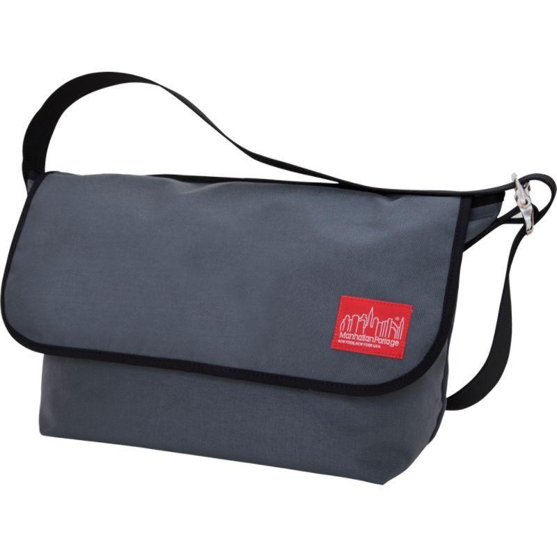 マンハッタンポーテージ メンズ ショルダーバッグ バッグ Vintage Messenger Bag - Large Gray