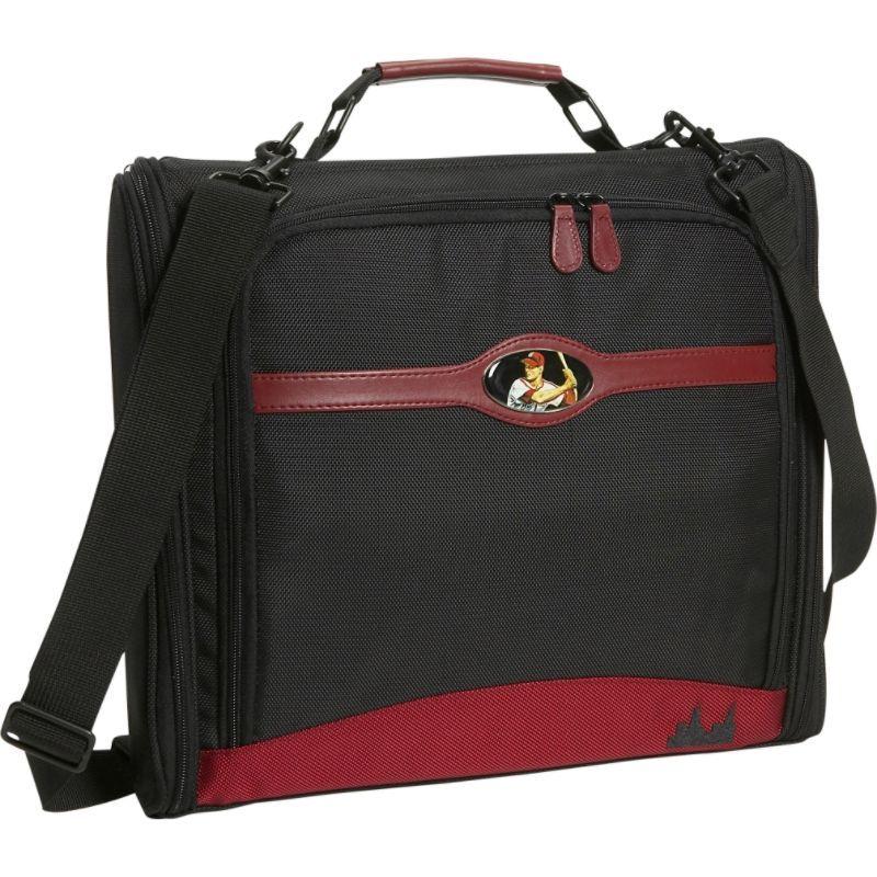 モバイルエッジ メンズ スーツケース バッグ Maddie Powers DIG 14.1PC / 15 MacBook Pro Laptop Tote Black/Burgundy