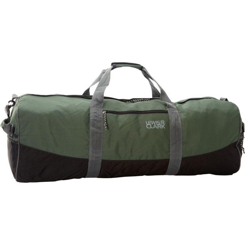 ルイスエヌクラーク メンズ スーツケース バッグ Uncharted Duffel Bag - Medium Green