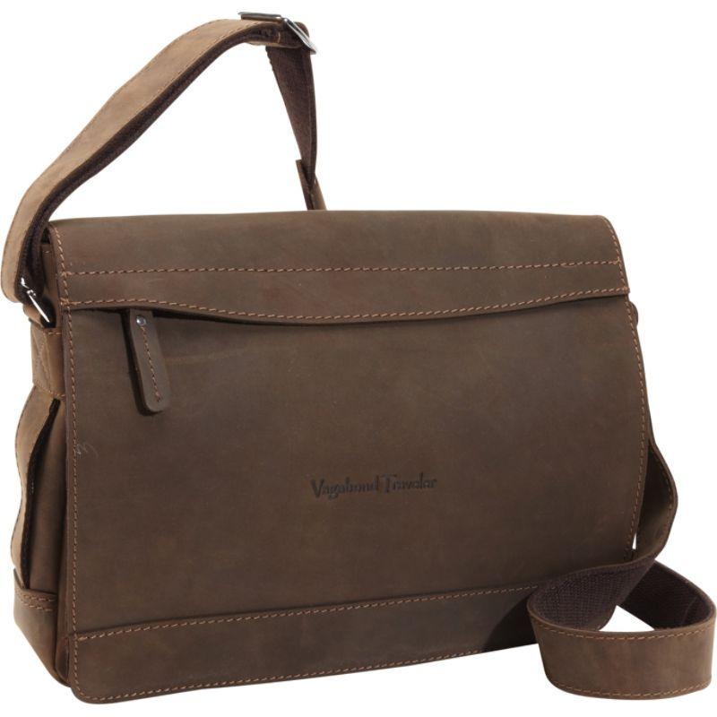 ヴァガボンドトラベラー メンズ ショルダーバッグ バッグ Signature Oil Tanned Leather Messenger Vintage Brown