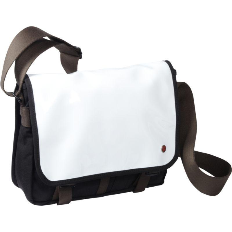 トーケン メンズ ショルダーバッグ バッグ Metropolitan Enamel DJ Bag (S) White