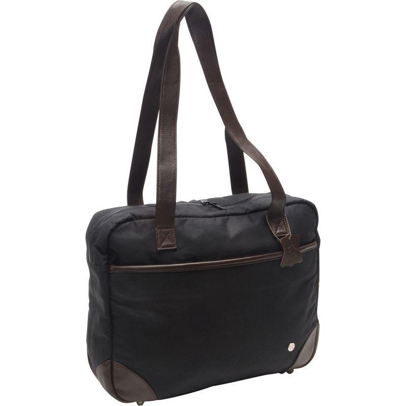 トーケン メンズ スーツケース バッグ Hudson Waxed Shoulder Bag Black