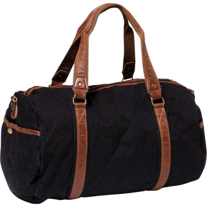 ヴァガボンドトラベラー メンズ ショルダーバッグ バッグ Large Canvas Shoulder Travel Bag Black