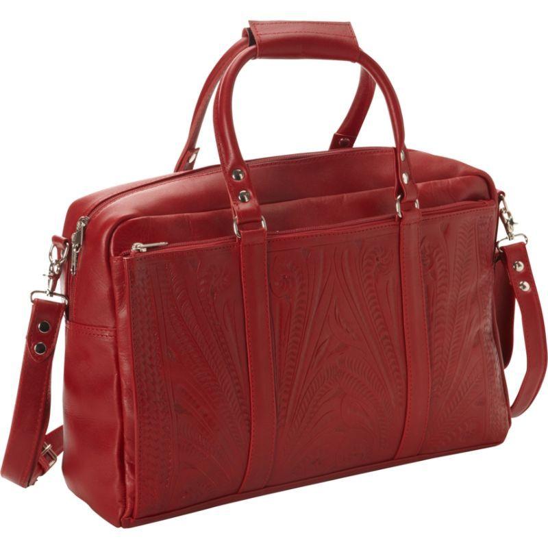 ロピンウェスト メンズ スーツケース バッグ Tote Brief Red