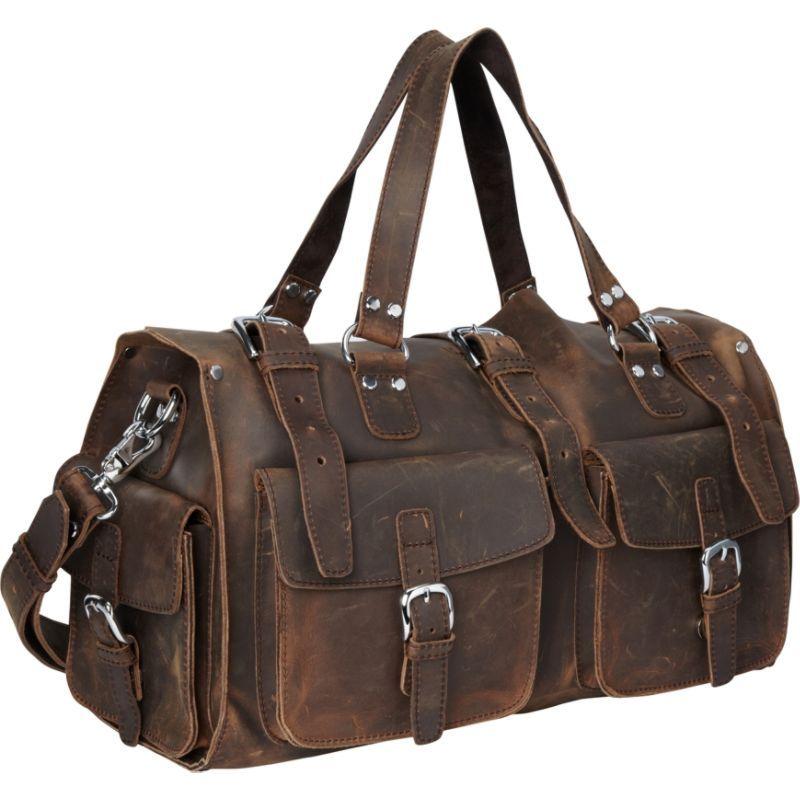 ヴァガボンドトラベラー メンズ スーツケース バッグ 18 Leather Travel Bag Vintage Distress