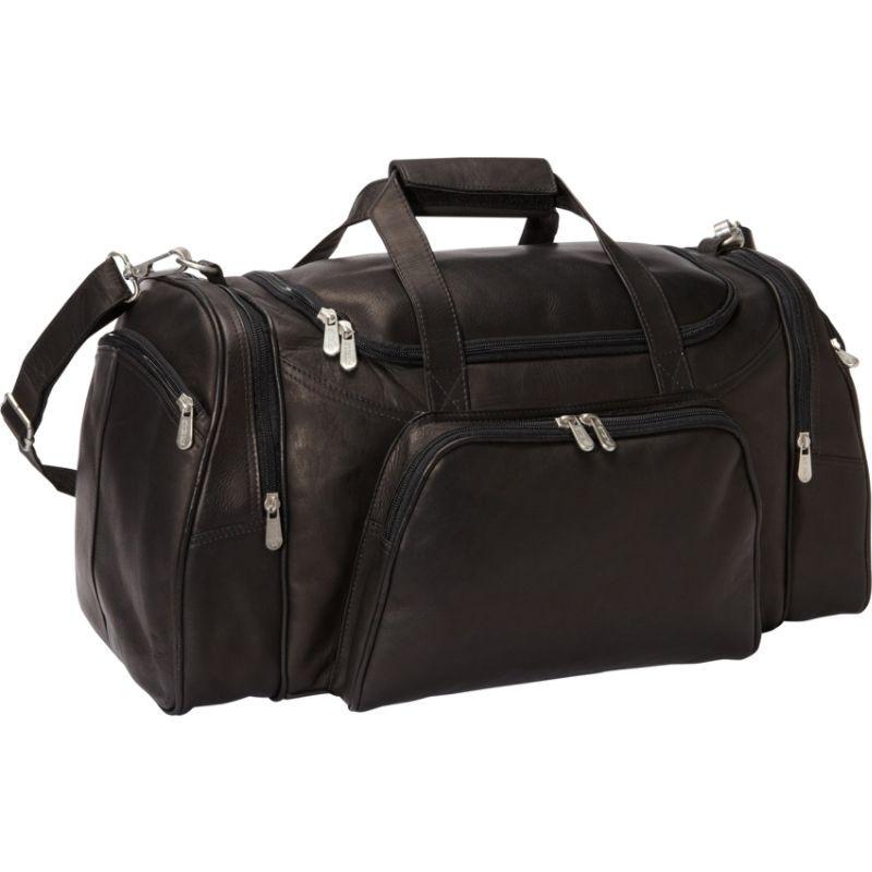 ピエール メンズ スーツケース バッグ Travel Duffel Black