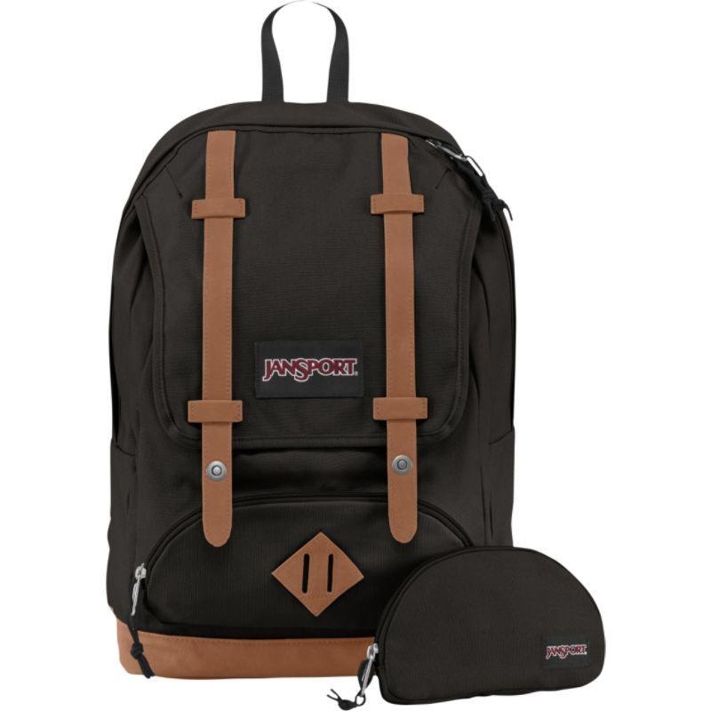 ジャンスポーツ メンズ バックパック・リュックサック バッグ Baughman Laptop Backpack Black Canvas