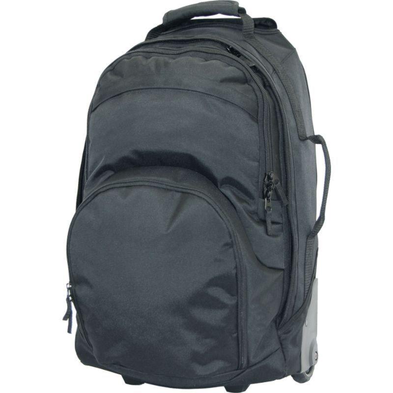 ネットパック メンズ スーツケース バッグ Multi-Pocket Wheel Bag Black