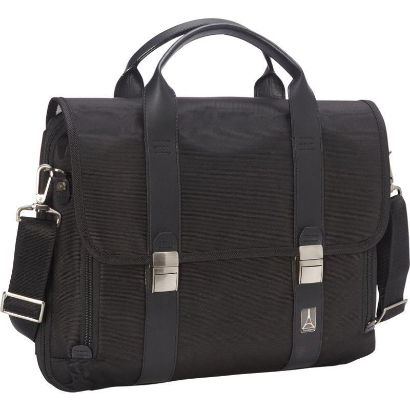 トラベルプロ メンズ スーツケース バッグ Crew Executive Choice Checkpoint Friendly Messenger Laptop Case Black