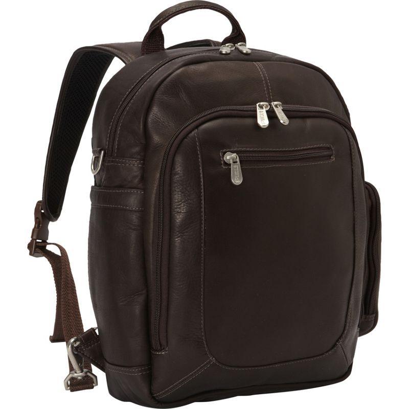 ピエール メンズ スーツケース バッグ Laptop Backpack Handbag Chocolate