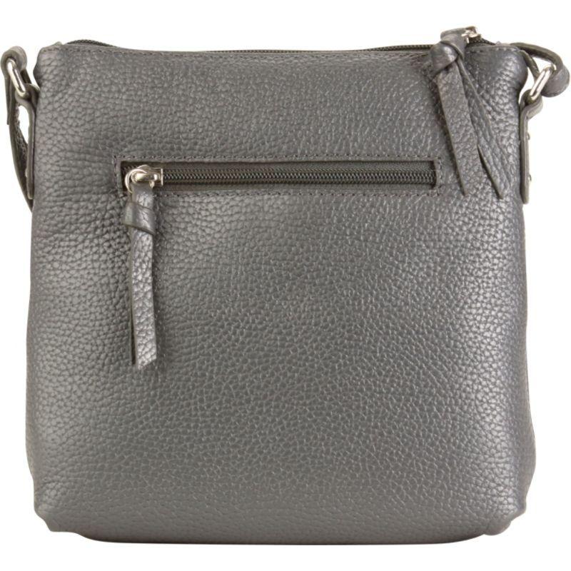 ハダキ メンズ ボディバッグ・ウエストポーチ バッグ Susan Crossbody Handbag Metallic Blue
