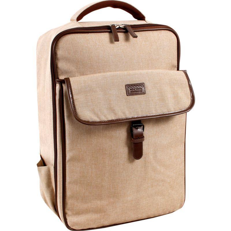 ジャイワールドニューヨーク メンズ スーツケース バッグ Class Laptop Backpack Sand