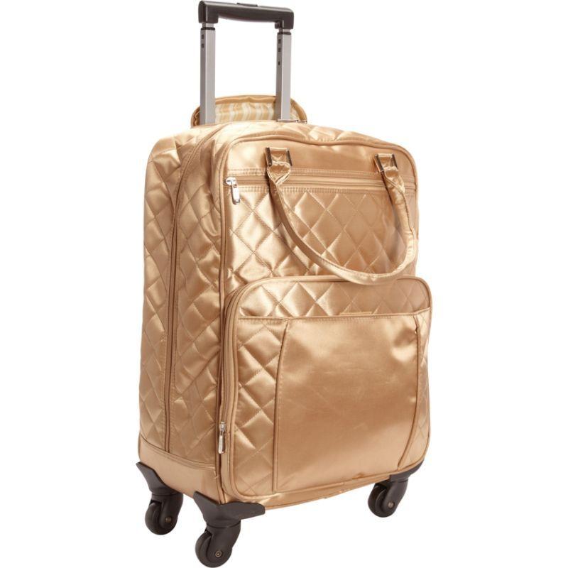 ベリノ メンズ スーツケース バッグ Savvy Roller Gold