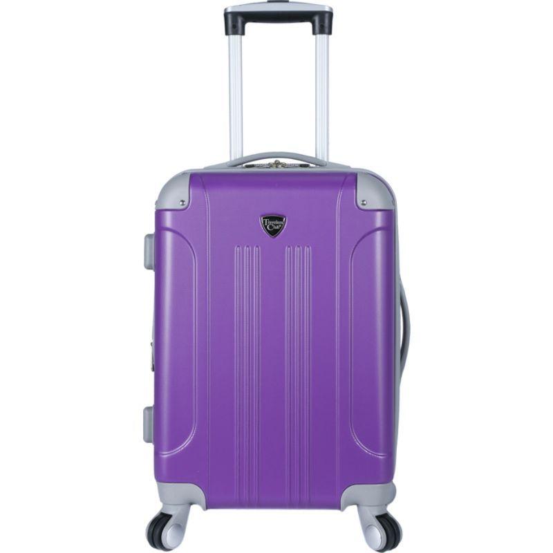 トラベラーズクラブ メンズ スーツケース バッグ Modern 20 Hardside Expandable Carry-On Spinner - EXCLUSIVE Purple