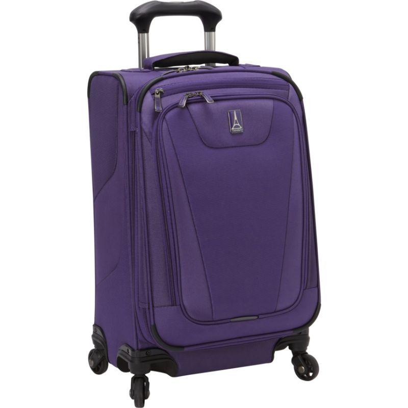 トラベルプロ メンズ スーツケース バッグ Maxlite 4 21 Expandable Spinner Grape