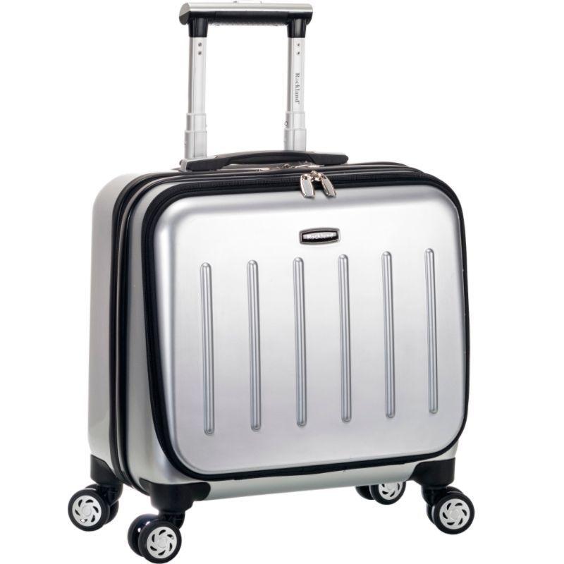 ロックランド メンズ スーツケース バッグ Revolution Rolling Computer Case Silver