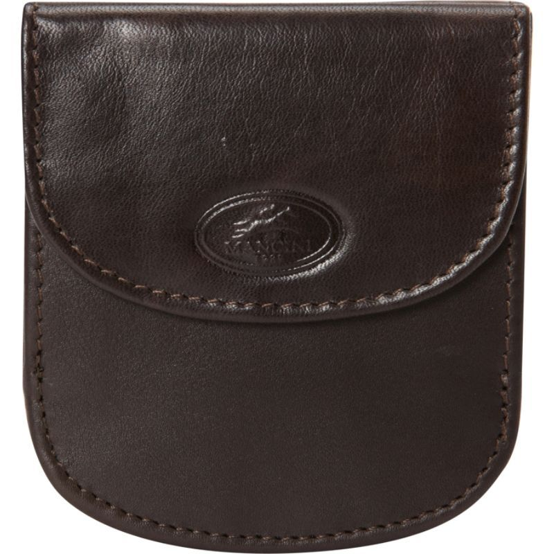 マンシニレザーグッズ メンズ 財布 アクセサリー Manchester Collection: Men's RFID Wallet with Coin Pocket Brown
