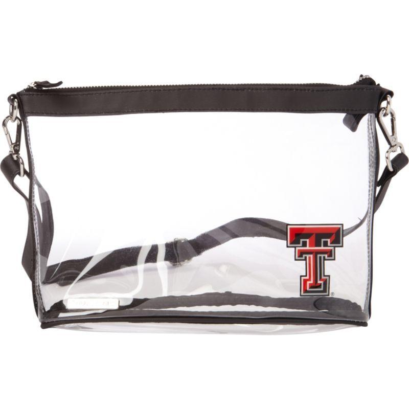 カプリデザイン メンズ ボディバッグ・ウエストポーチ バッグ Large NCAA Crossbody - Licensed Texas Tech