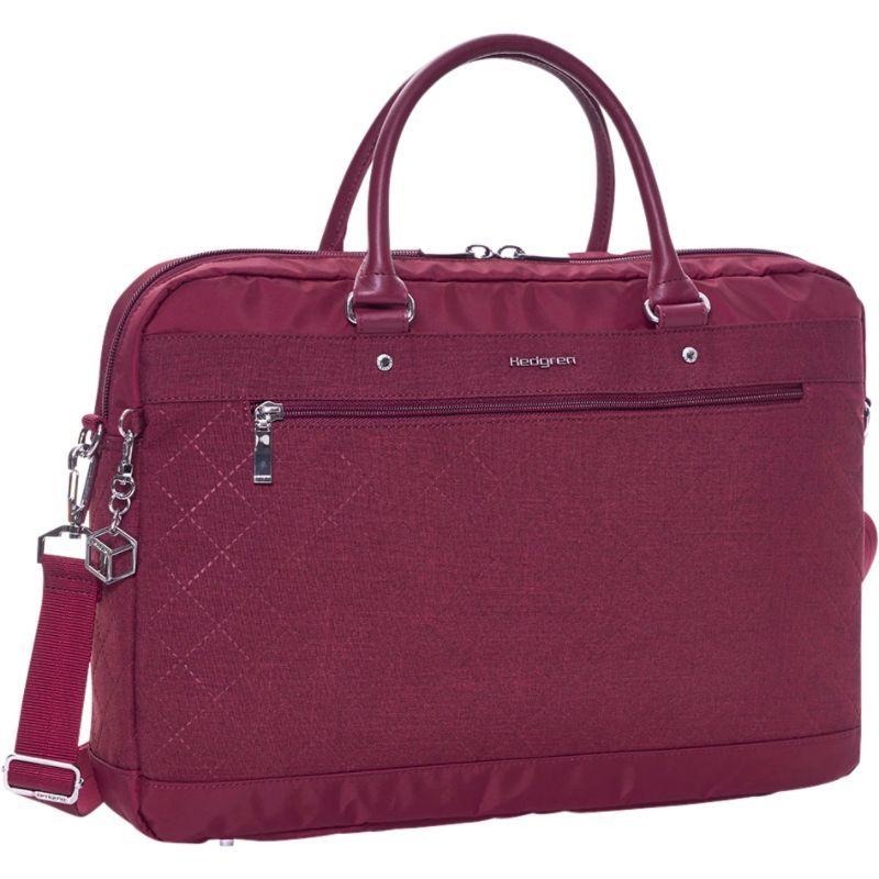 ヘドグレン メンズ スーツケース バッグ Opal L Business Bag Windsor Wine