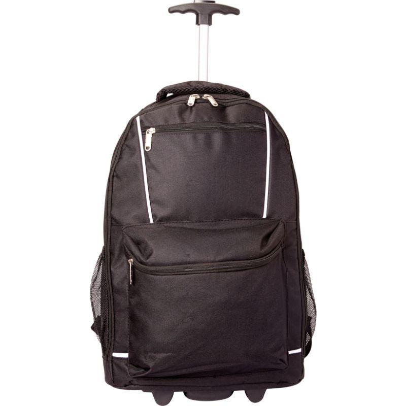 ベリノ メンズ バックパック・リュックサック バッグ Monopod Rolling Backpack Black