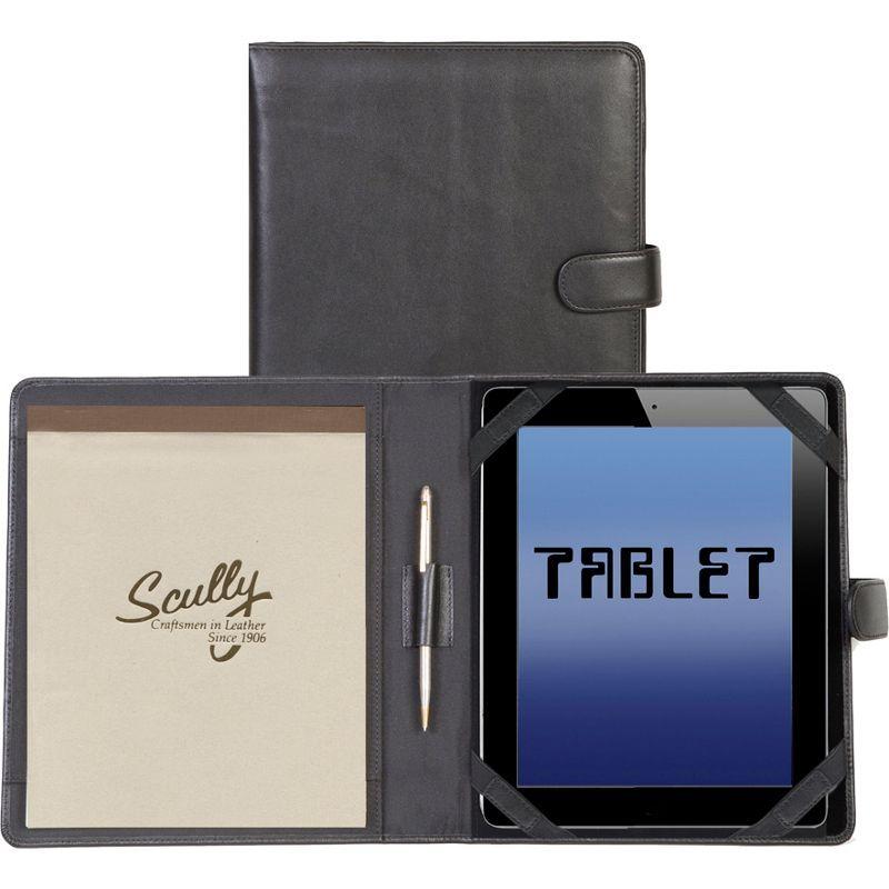 スカーリー メンズ PC・モバイルギア アクセサリー Tablet Cover & Padfolio Black