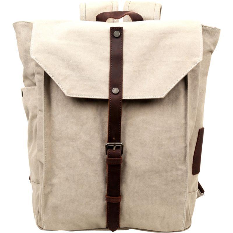 ティエスディー メンズ バックパック・リュックサック バッグ Sunny Trail Backpack Ivory