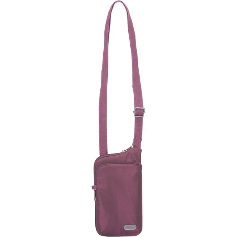パックセーフ メンズ ボディバッグ・ウエストポーチ バッグ Anti-Theft Tech Crossbody Bag Blackberry