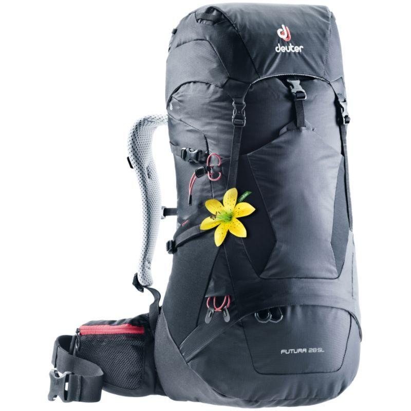 ドイター レディース バックパック・リュックサック バッグ Womens Futura 28 SL Hiking Pack Black