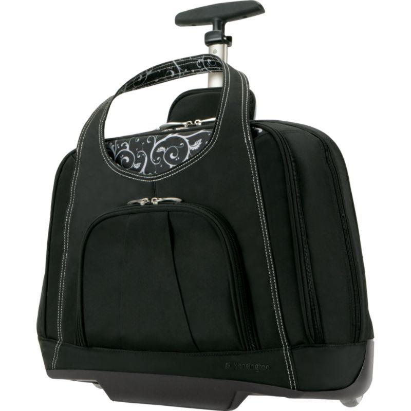 ケンジントン メンズ スーツケース バッグ Contour Balance Series Rolling Notebook Case Black