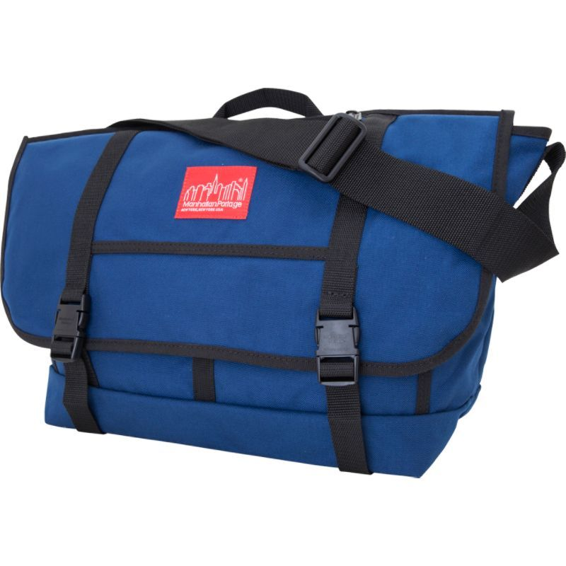 マンハッタンポーテージ メンズ ショルダーバッグ バッグ New York Messenger Bag (Large) Navy
