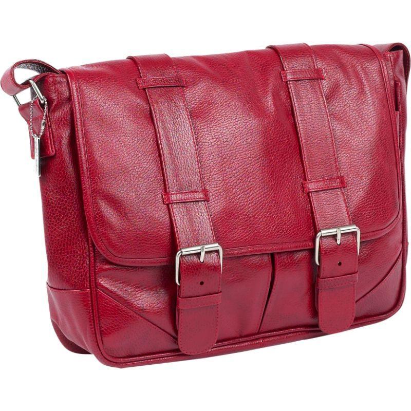 クレアーチャイス メンズ スーツケース バッグ Sorrento Laptop Messenger Red